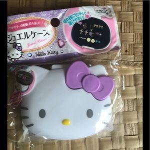 Hello Kitty travel jewelry case